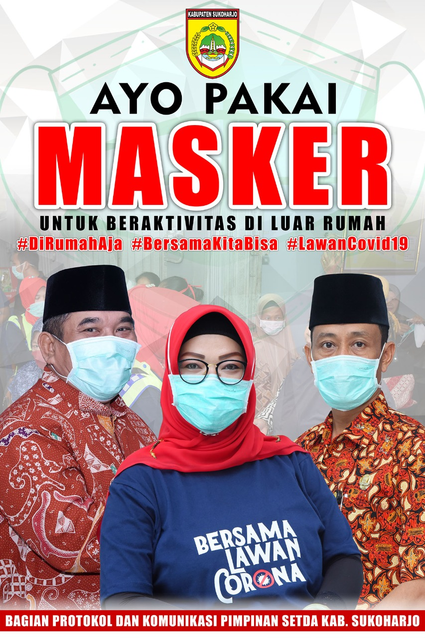 banner sosialisasi masker